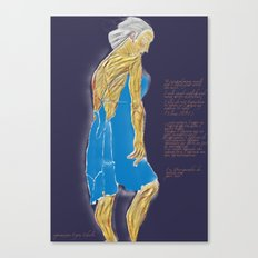 Desesperada Canvas Print