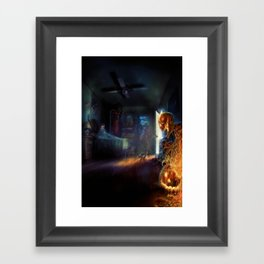 Corban's Nightmares Framed Art Print