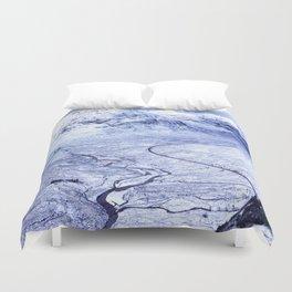 Ice Landscape Duvet Cover