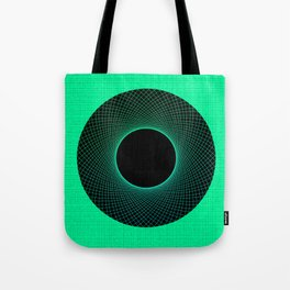 Apple Vortex Green Tote Bag