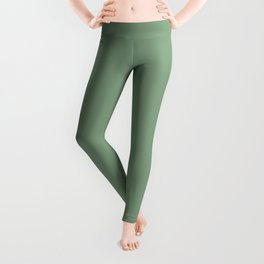Grayish-green. Leggings