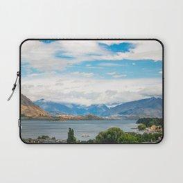 Cloudy summer day at Wanaka, New Zealand Laptop Sleeve