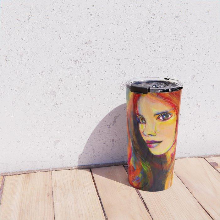 flawed beauty Travel Mug