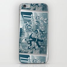 ELECTRIC TIGER SKULL! iPhone & iPod Skin