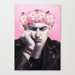 Flower Crown Ronan Canvas Print