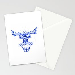 Antlers Alien Stationery Cards