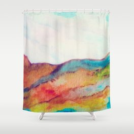 Improvisation 15 Shower Curtain