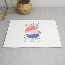 Maho Beach  TShirt Beach Surfing Shirt Beaches Gift Idea Rug