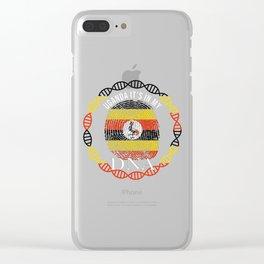 Uganda Its In My DNA Clear iPhone Case