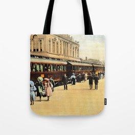 1900s Haydarpasa railroad station, train Tote Bag