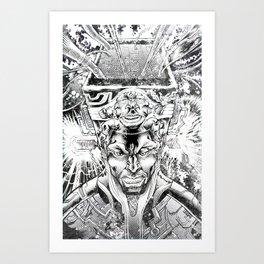 KID QUASAR AND THE ULTRA-MAGNETIC HI TOP FADE Art Print
