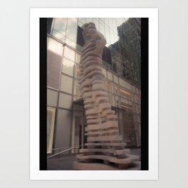 Recursive Referencing Art Print