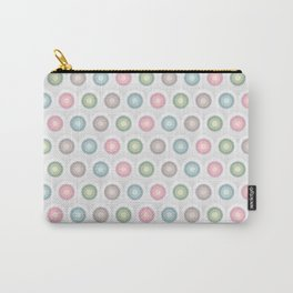 Multicolor Pastel Poke A Dot Patterns  Carry-All Pouch