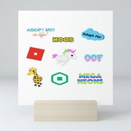 Roblox Adopt Me Mini Art Print