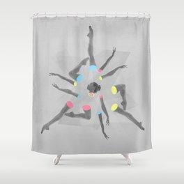 Break Dancer Shower Curtain