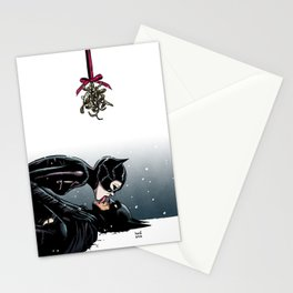 The Bat and the Cat Stationery Cards