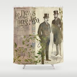 The Days of Long Ago Shower Curtain