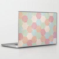 pastel goth Laptop & iPad Skins featuring Pastel by According to Panda