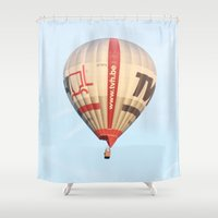 alone Shower Curtains featuring alone by aticnomar