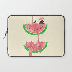 watermelon falls Laptop Sleeve