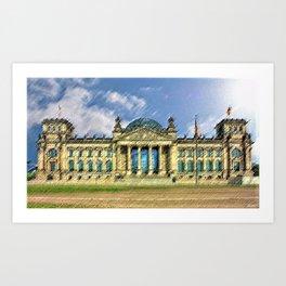 Reichstag, Berlin by Jeanpaul Ferro Art Print