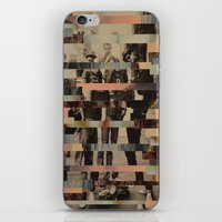 beastie boys iPhone & iPod Skins featuring The Boys by Claire Elizabeth Stringer