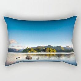 Ducks on Lake Derewentwater near Keswick, England Rectangular Pillow
