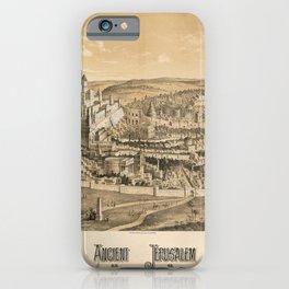 Ancient Jerusalem, A.D. 65 iPhone Case