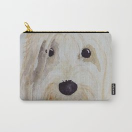 Gina the PBGV Carry-All Pouch