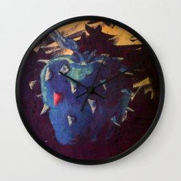 Pretty Poison Wall Clock