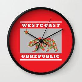 gbrepublic Wall Clock