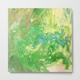 Fluid painting 9. Metal Print