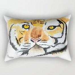Tiger rawr Rectangular Pillow