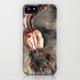 THE BLACK DRAGON iPhone Case