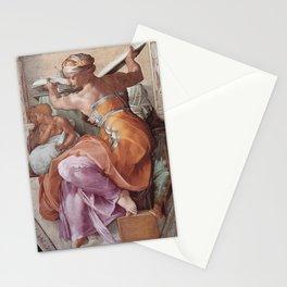 Michelangelo - Libyan Sibyl Stationery Cards