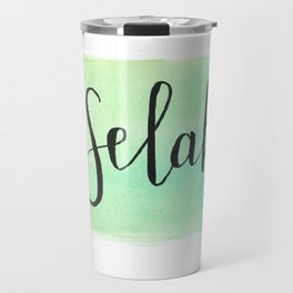 Selah - Watercolor Travel Mug