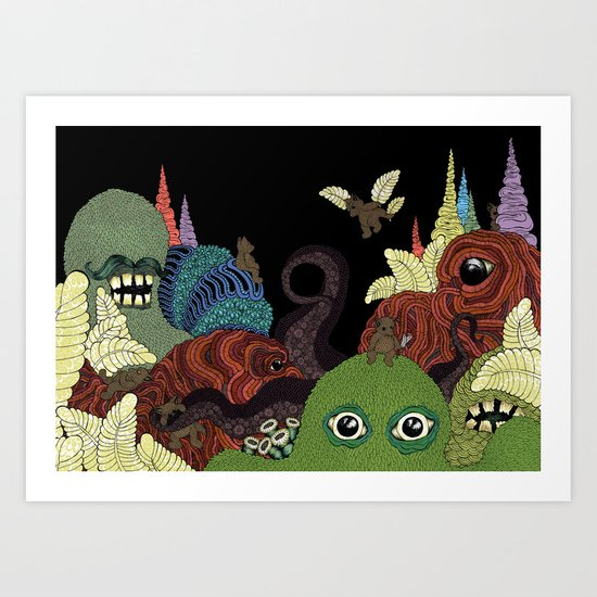 Whimsy Art Print