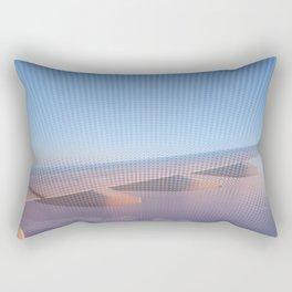 Flying High at Sunset Rectangular Pillow