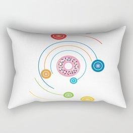 Donut Space System Rectangular Pillow
