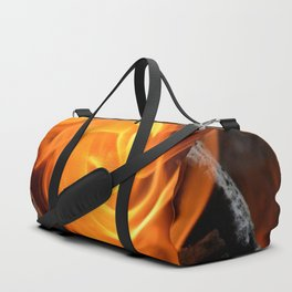 swirling flame Duffle Bag