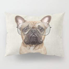 Mr French Bulldog Pillow Sham