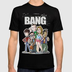 Bang! Mens Fitted Tee Black LARGE