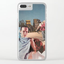 Hometown Bust Clear iPhone Case