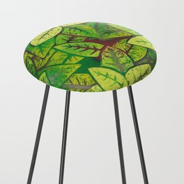 Spring leaves Counter Stool