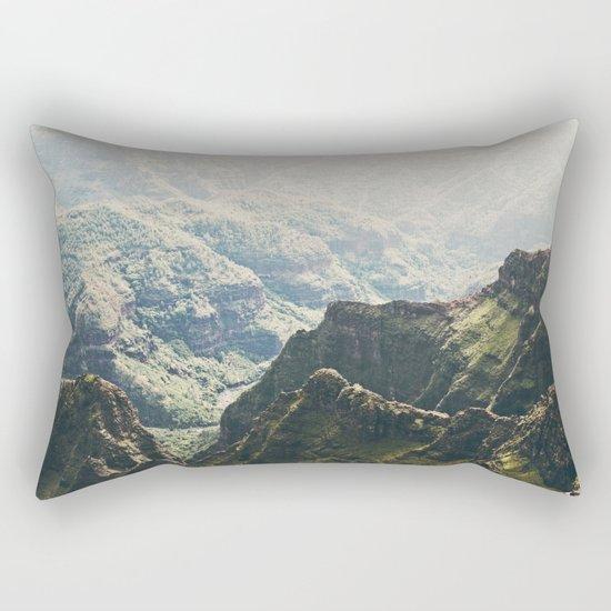 Hawaii Green Rectangular Pillow