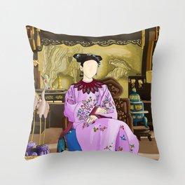 Kangxi's Queen Throw Pillow
