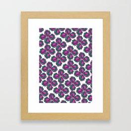 Dripping Hearts Framed Art Print