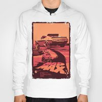 mad max Hoodies featuring Mad Max by Mike Wrobel