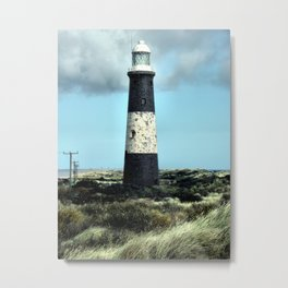 Spurn Point Lighthouse Metal Print