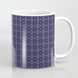 Meshed in Blue Coffee Mug